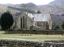 Picture of St Marys Church Beddgelert