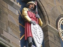 Picture of Statue of Mars Cardiff Castle