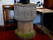 Picture of Stone Font Llanbadrig Church