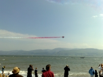 Picture of Red Arrows from Beaumaris