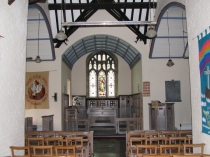 Picture of Chancel of Llanallgo Church
