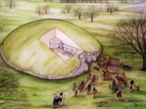 Picture of Burial Chamber at Bryn Celli Ddu