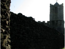 Picture of Roman Walls and Church Tower