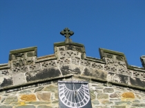 Picture of Sundial on Holyhead Church