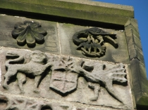 Picture of Coat of Arms Carved on Saint Cybi's Church