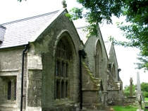 Picture of East Wall of Saint Cadwaladr's Church