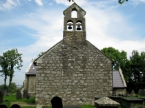 Picture of West Elevation of Llangadwaladr Church