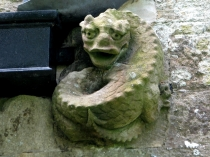Picture of Gargoyle on  Saint Cadwaladr's Church