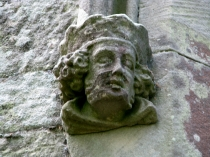 Picture of Male Headstop on Anglesey Church