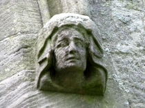 Picture of Female Headstop on Anglesey Church
