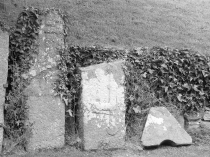 Picture of Closer View of Llangaffo Gravestones