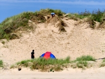 Picture of Sand Dunes on Anglesey Beach