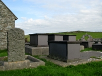 Picture of Chest Tombs in St Rhwydrus Churchyard