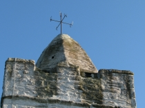 Picture of Close Up of Llanfechell Church Tower
