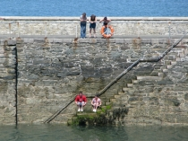 Picture of Harbour Jumping at Holyhead