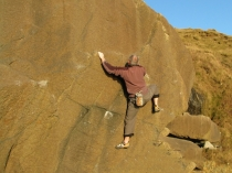 Picture of Bouldering at Porth Ysgo