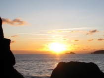 Picture of Porth Ysgo Sunset