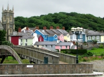 Picture of Bridge, Church and Street in West Wales