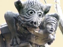 Picture of Church Gargoyle in Wales