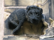 Picture of Stone Carving of Dog