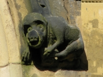 Picture of Stone Carving of  Baboon